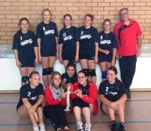 Damenvolleyballmannschaft 2012/ 2013