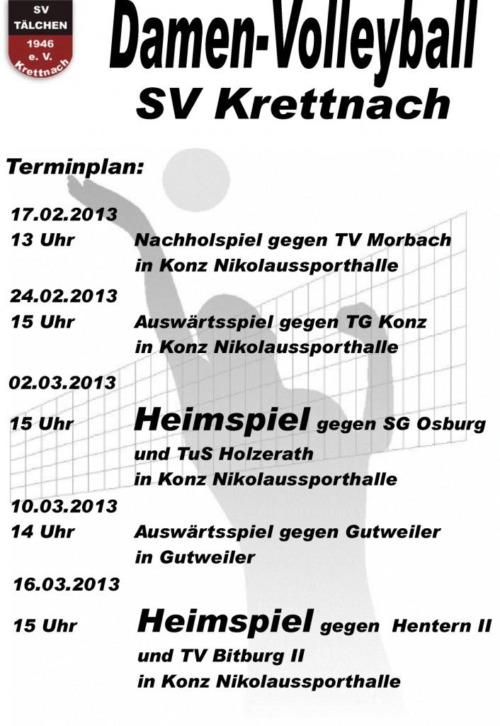 verbleibende Spiele der Saison 2012/2013