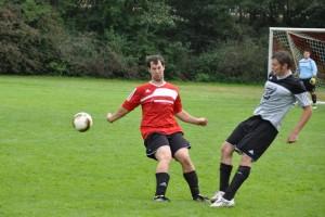 Stark in der Defensive: Fabian Schmitt