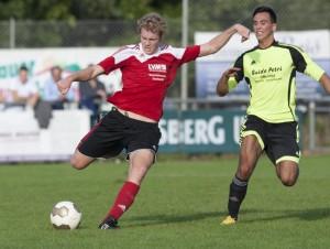 Unser Youngster Lukas Kugel mit guter Defensivleistung