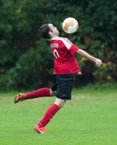 Der mit dem Ball tanzt: Paddy Dres