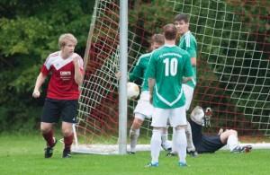 Lukas Kugel: Freude über das 1:0