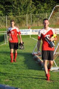 Zwei aus dem Siegerteam: Marci Herrig und Markus Rau