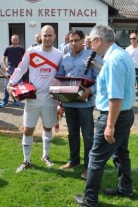 Torwart Philipp Beuel mit Dank verabschiedet