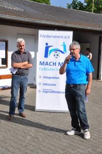Michael Herrmann u. Bernd Marx, Gründer des Fördervereins