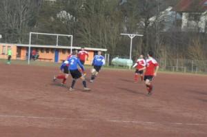 Unsere Mittelfeldachse Sascha Schirra, Tim Jonas und Daniel Penth