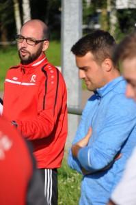 Das Trainerteam Achim Lauterbach und Dominik Bosl